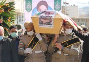 وصل عاشقانه یکی از فرماندهان فتح خرمشهر/ تشییع پیکر جانباز شهید عمادی در «کیلان» دماوند