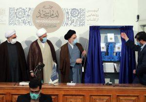 رونمایی از کتاب حماسه امام سجاد(ع) رهبر معظم انقلاب با حضور حجت الاسلام حاج علی اکبری