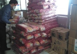 ۱۴۰۰ سبد کالا میان مددجویان دماوندی