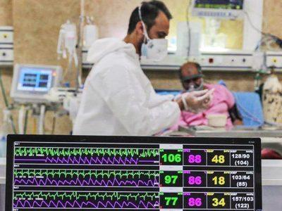 ثبت رکورد جدید بستریهای کرونایی در تهران