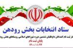 آمار ثبتنام کنندگان نهایی داوطلبان ششمین دوره انتخابات شوراهای اسلامی روستاهای بخش رودهن
