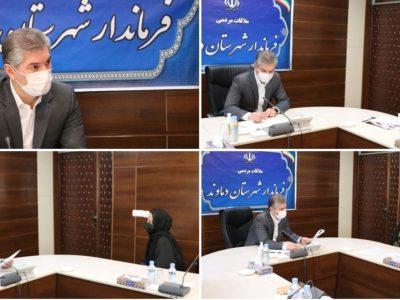 برگزاری ملاقات مردمی فرماندار شهرستان دماوند