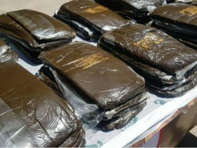 دستگیری سوداگر مرگ با بیش از ۵ کیلوگرم مواد مخدر در مهرآباد رودهن