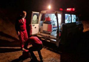 پیرمرد مفقود شده در «دریاچه تار» با تلاش ۶ ساعته نجاتگران پیدا شد
