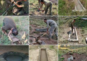 آغاز ساخت، بازسازی و لایروبی آبشخورها در حیات وحش شهرستان دماوند