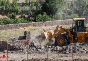 آزادسازی ۱۴ هکتار از اراضی زراعی در منطقه هاشمک دماوند با ورود دادستانی